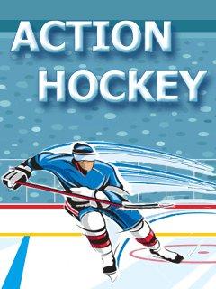 Action Ice Hockey 128x160 Java Game Free Download Dertz