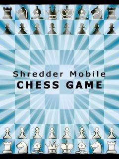Shredder Mobile Chess 176x208 java game free download : Dertz