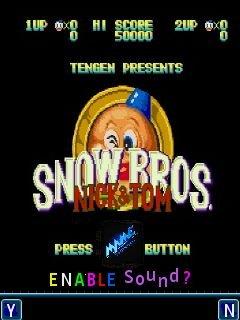 Snow bros 128x160 java game free download : Dertz