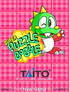 Super Puzzle Bobble 128x160 java game free download : Dertz