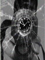 Analog clock Nokia X2-01 themes free download : Dertz