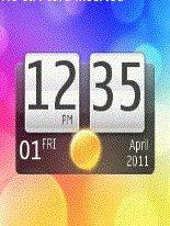 Live clock Nokia Asha 205 themes free download : Dertz
