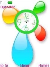 clock miter Nokia Asha 206 themes free download : Dertz