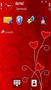 live clock Nokia C6-01 themes free download : Dertz