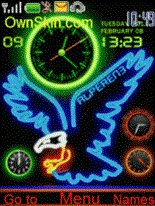 Nokia X2-01 free themes download : Dertz
